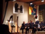 2 Harfen am Herbstkonzert