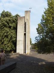 Kirchturm der St. Marien Kirche in Windisch