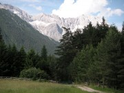 Teil der Mieminger-Bergkette