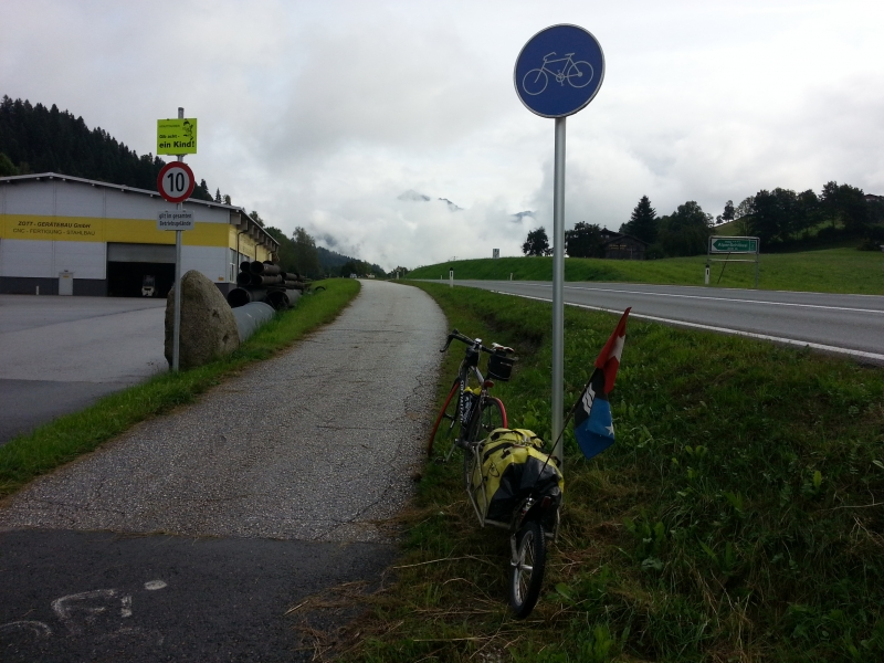 Vom Tirol ins Salzburgerland, Wörgl-Bruck an der Grossglocknerstrasse