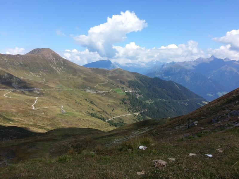 Penserjoch, Passhöhe, in Richtung Nord, Aufstiegsseite