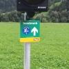Wegweiser zum Inntaler Radweg