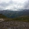 Blick vom Bikerspoint, unterhalb Edelweissspitze