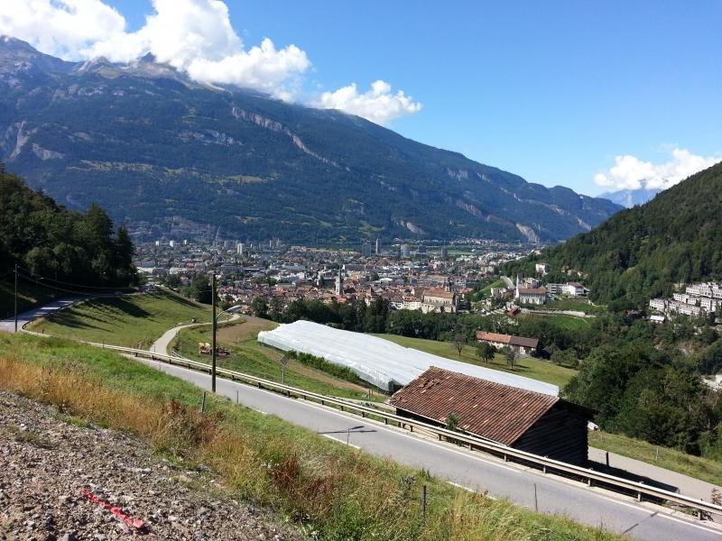 Über den Dächern von Chur