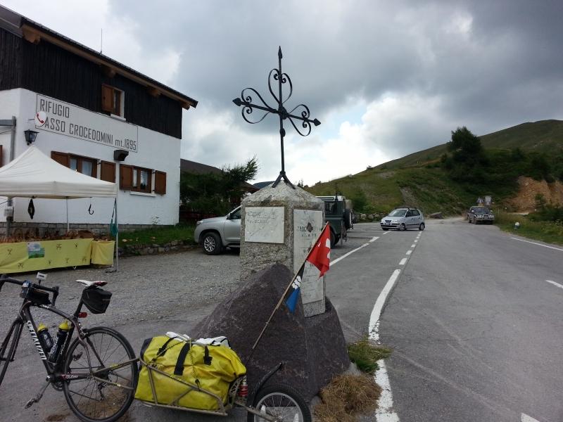 Passhöhe Crocedomini