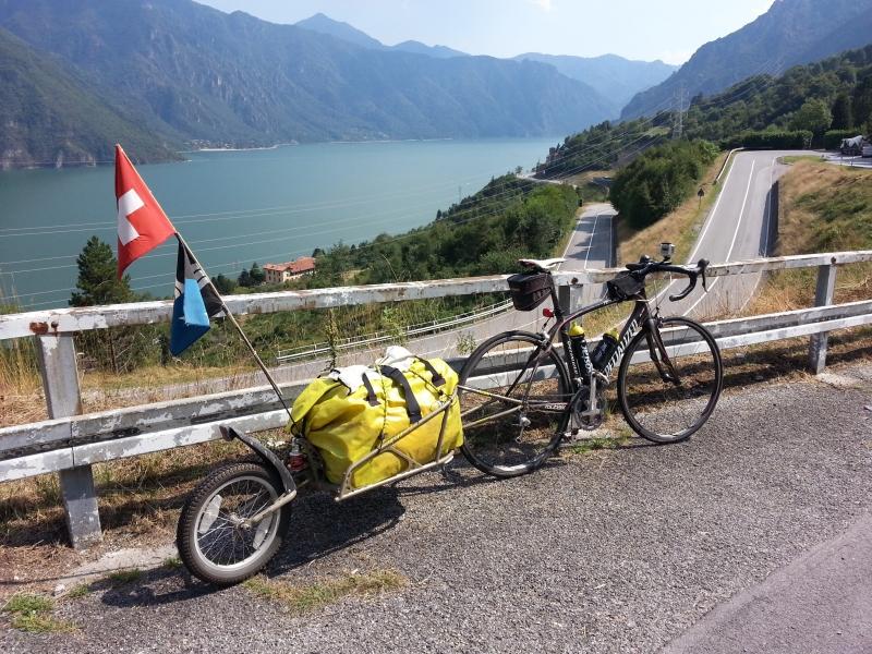 Über dem Lago d'Idro