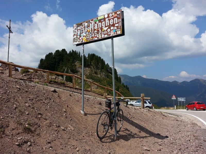 Passhöhe Passo Manghen