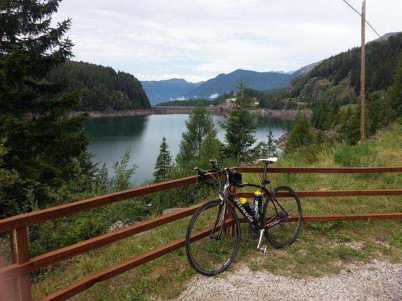 Unterwegs zum Passo Valles und Rolle