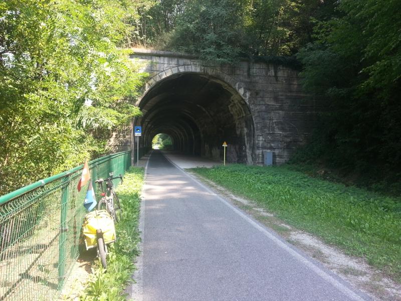 Eisenbahntunnel der ehemaligen Brennerbahn