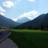 Unterwegs zum Fedaia Pass