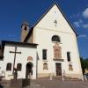 eine der vielen Kirchen von Cavalese
