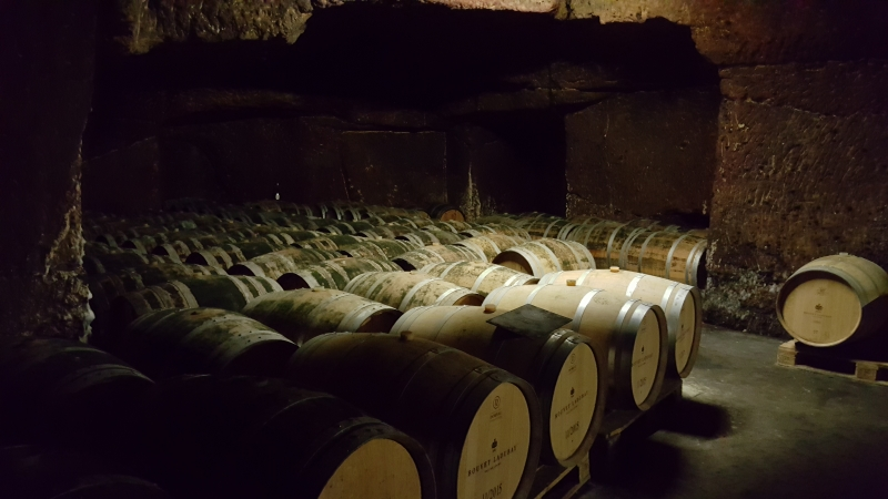 Weinkeller von Bouvet & Ladubay