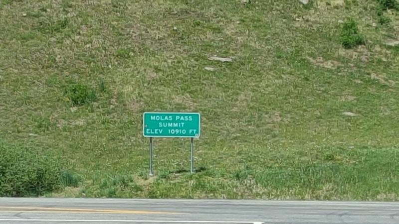 Molas Pass