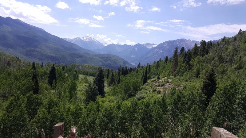 Ausblick vom McClure Pass