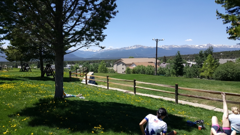 Mittagspause in Leadville