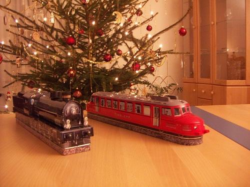 Leckere Eisenbahn