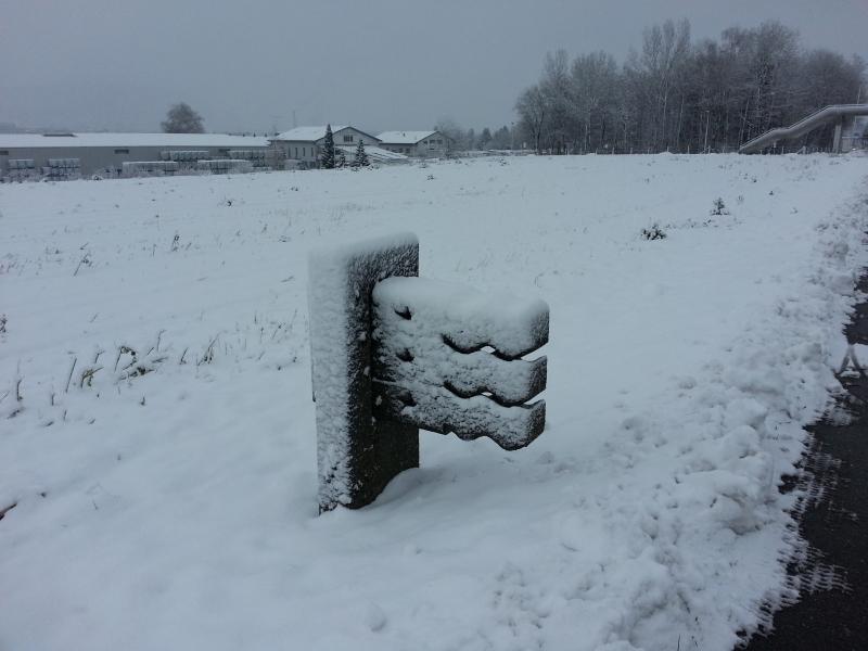 Grenzstein im Limmattal