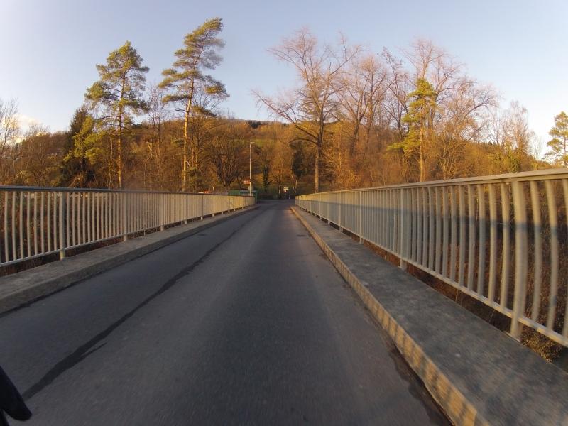 Aarebrücke vor Auenstein