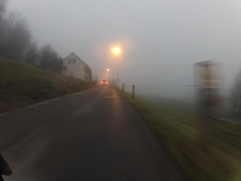 Nebel in der Höhe
