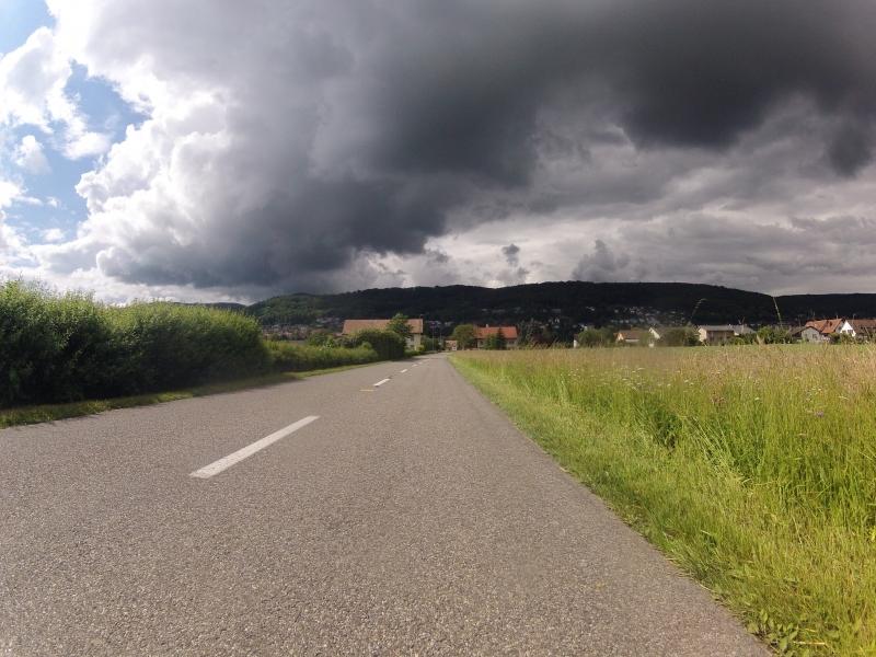 Imposante Wolkenbilder