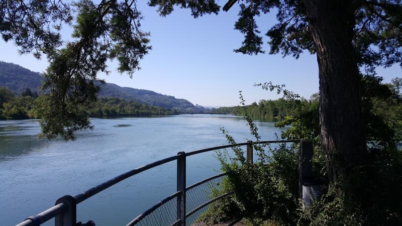 Stausee Schinznach-Bad
