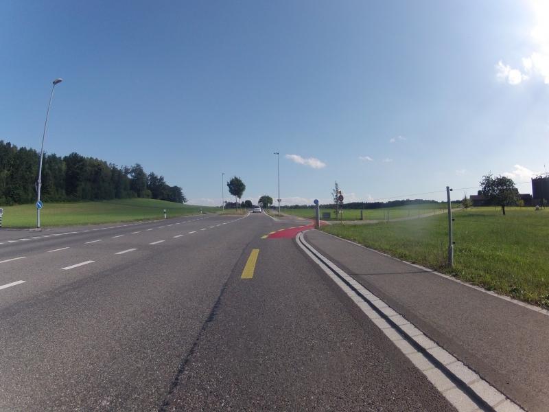 Radweg bei Fislisbach