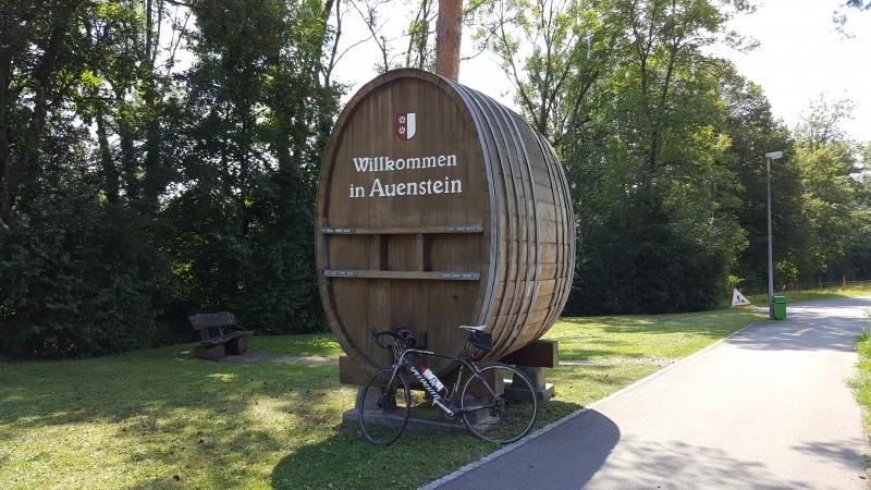 Dorfeingang Auenstein