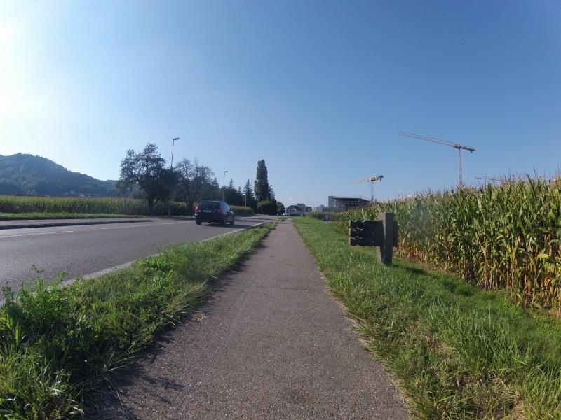 Grenze zum Kanton Aargau