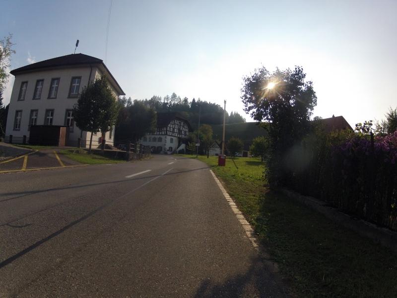 von Leuggern in Richtung Rotberg