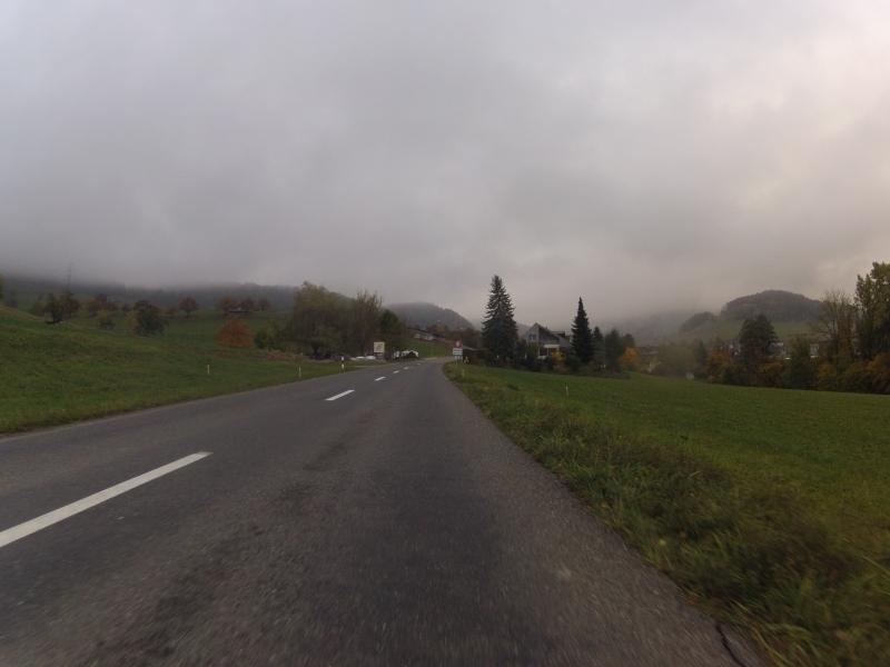 Nebel über dem Rotberg