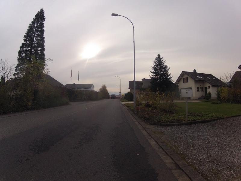 Wintersonne über Schinznach