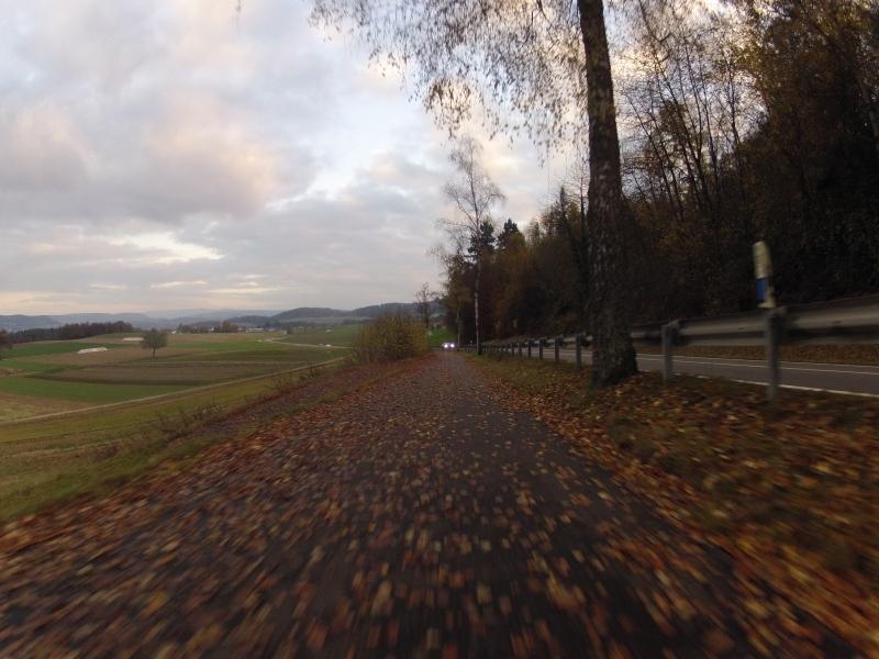 Abfahrt nach Leuggern