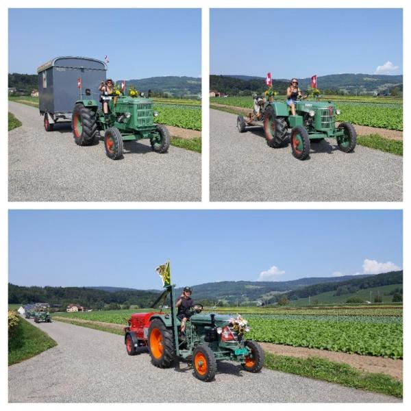Traktorenparade