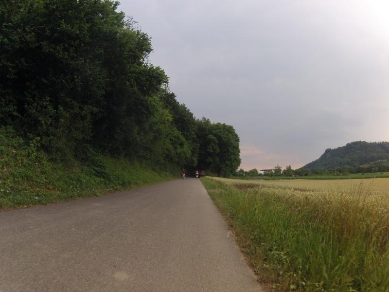 Radweg bei Würenlingen