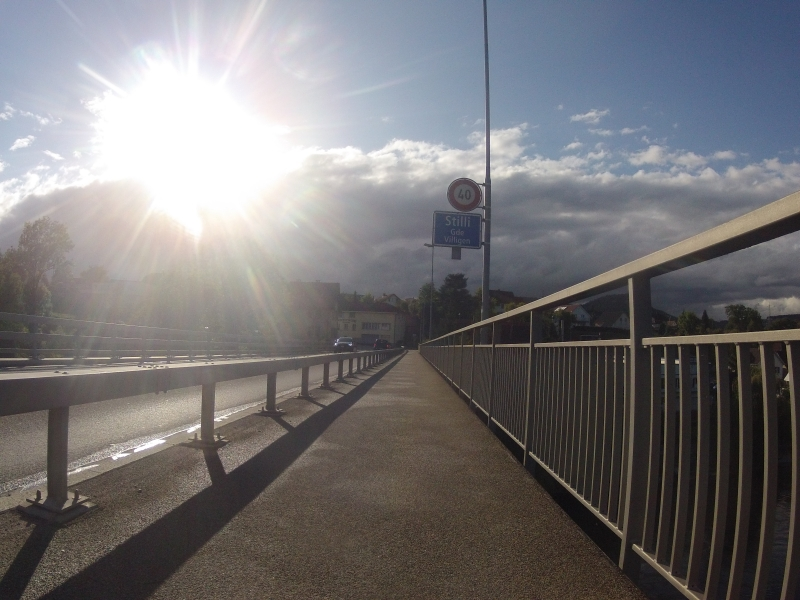 Aarebrücke bei Stilli