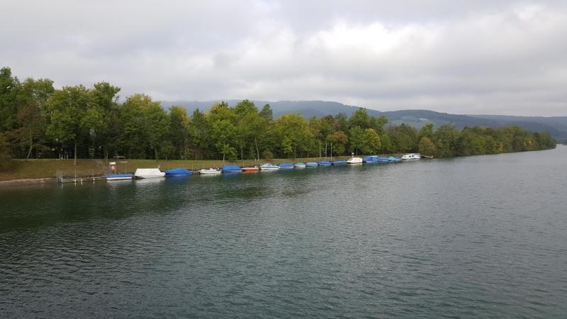 Herbstliche Stimmung an der Aare