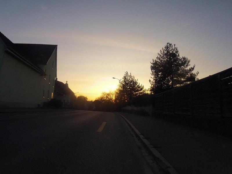 Gegenlicht bei Rupperswil