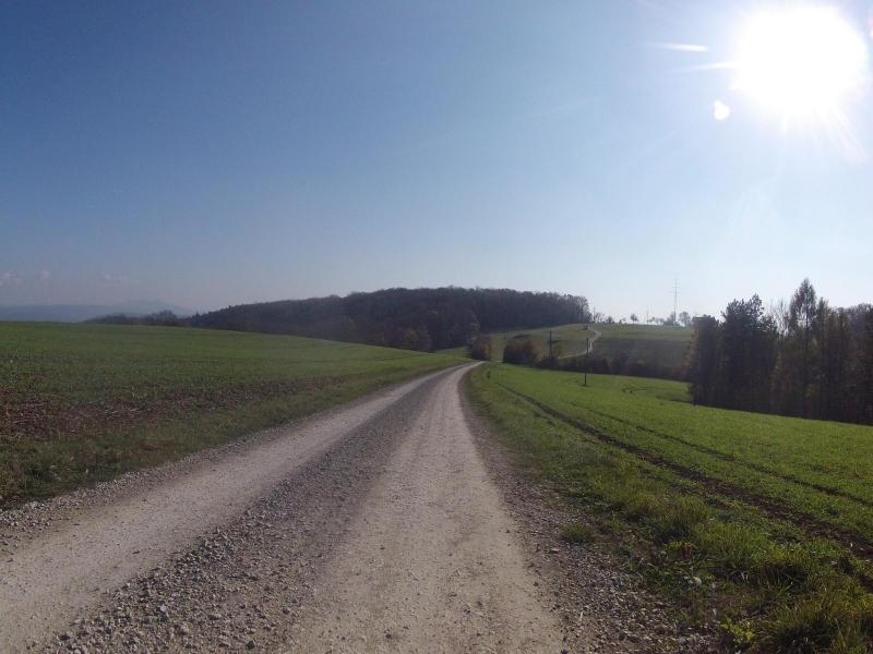 Von der Ampfernhöhe zum Bözberg hinüber