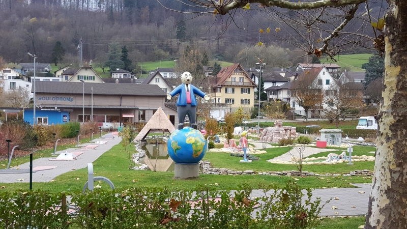 Papa Moll Minigolfplatz in Bad Zurzach