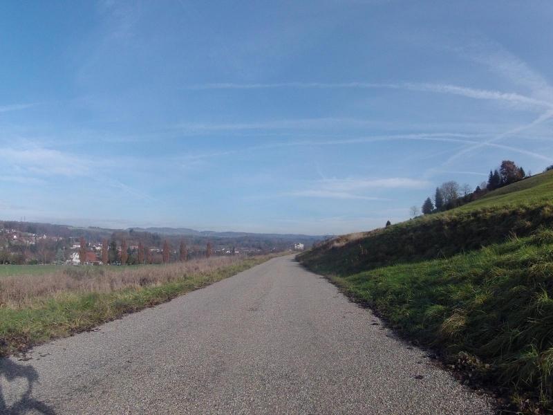 Blick nach Deutschland in der Nähe von Etzgen