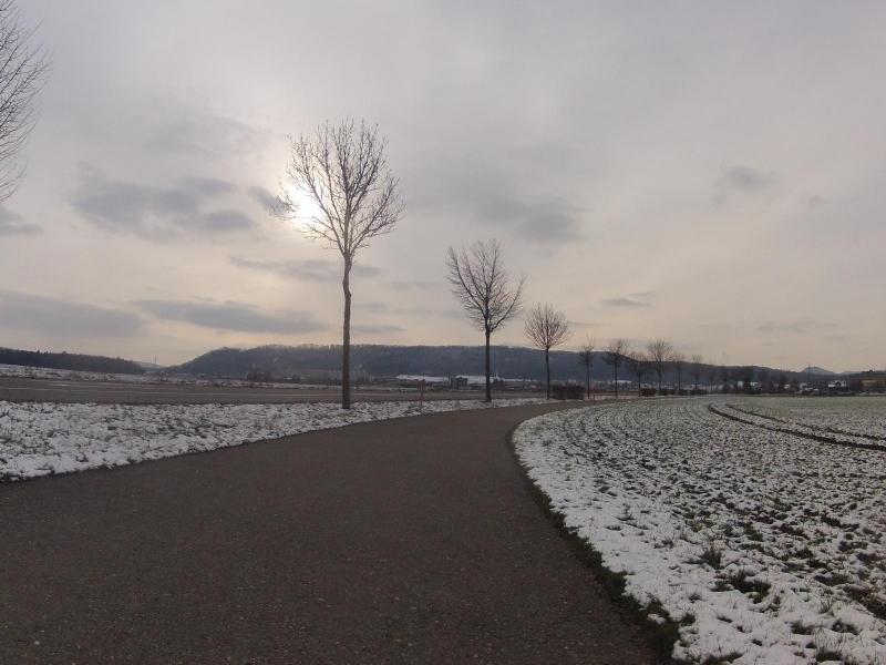 Winterstimmung im Birrfeld