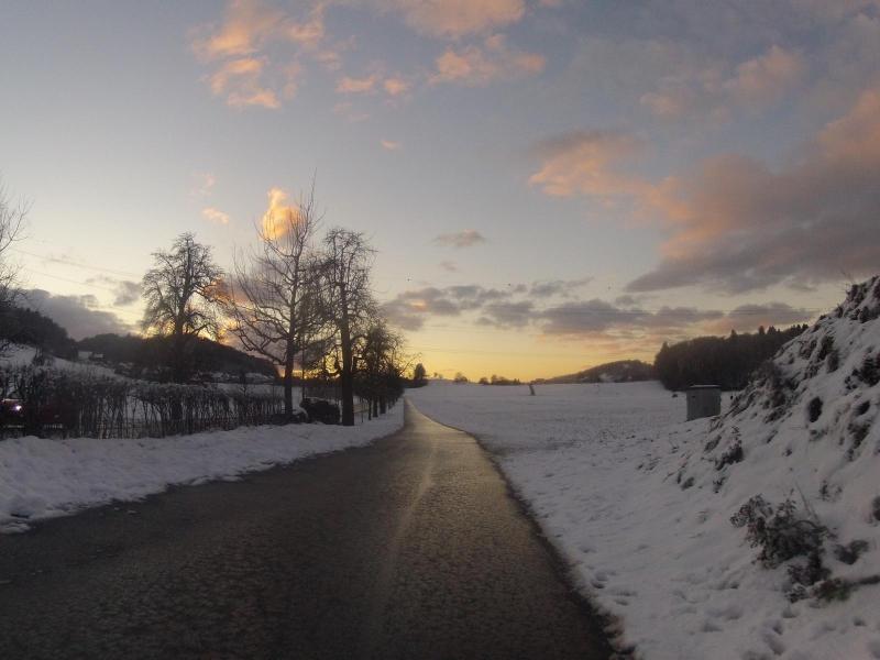 Ist die Strasse schon gefroren?