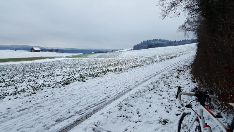 Oberhalb Auenstein, Blick über das Aaretal