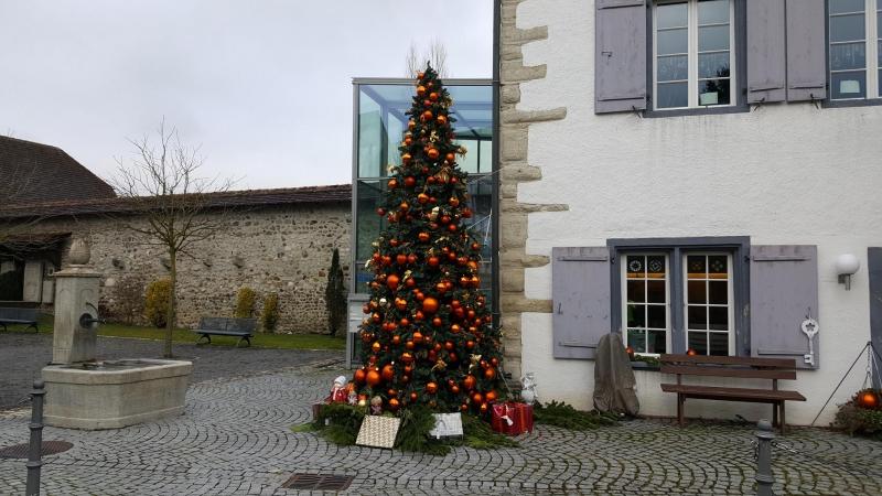 Weihnachtsbaum in Mellingen