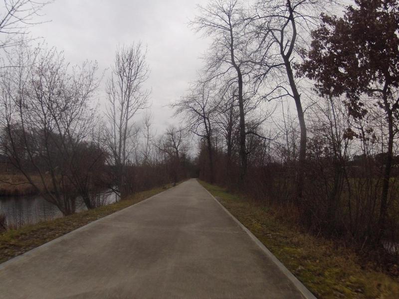Radweg bei Klingnau
