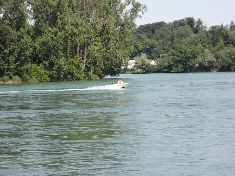 Am Zusammenfluss von Aare und Rhein