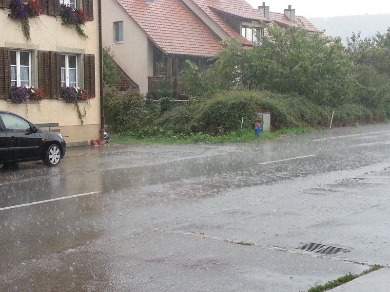 Platzregen