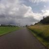 dunkle Wolken über dem Aaretal