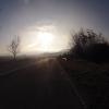 Der Nebel löst sich langsam auf