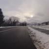 Winterstimmung über dem Aaretal